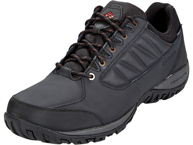 Columbia Ruckel Ridge WP Shoes Men, black/rusty
